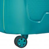 Delsey Moncey maleta verde maleta rígida maleta spinner