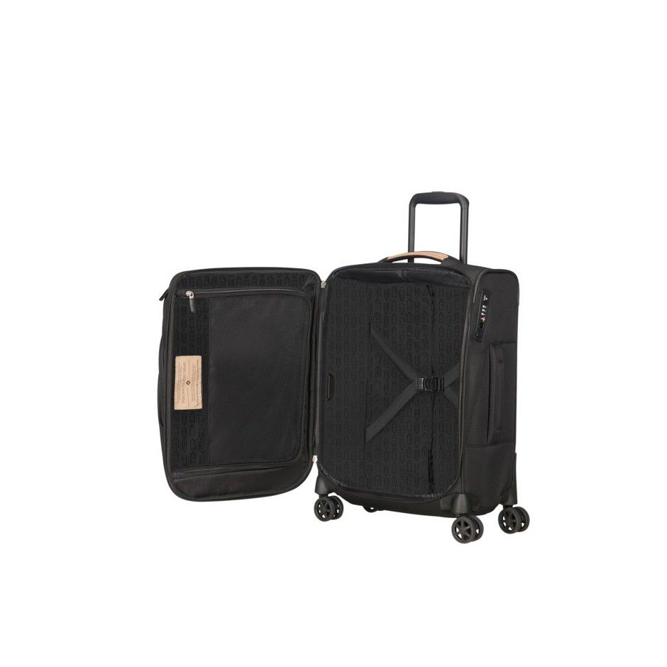 Samsonite Spark SNG ECO maleta negra maleta blanda maleta spinner
