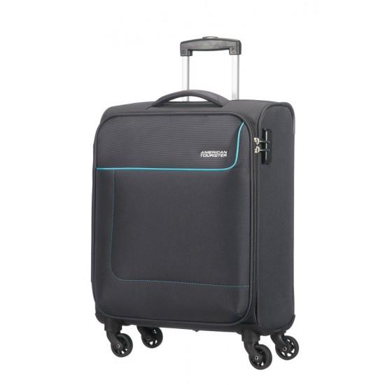 American Tourister Funshine maleta gris maleta blanda maleta spinner