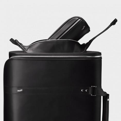 Maleta Vocier F38 maleta negra maleta de cabina maleta rígida maleta trolley