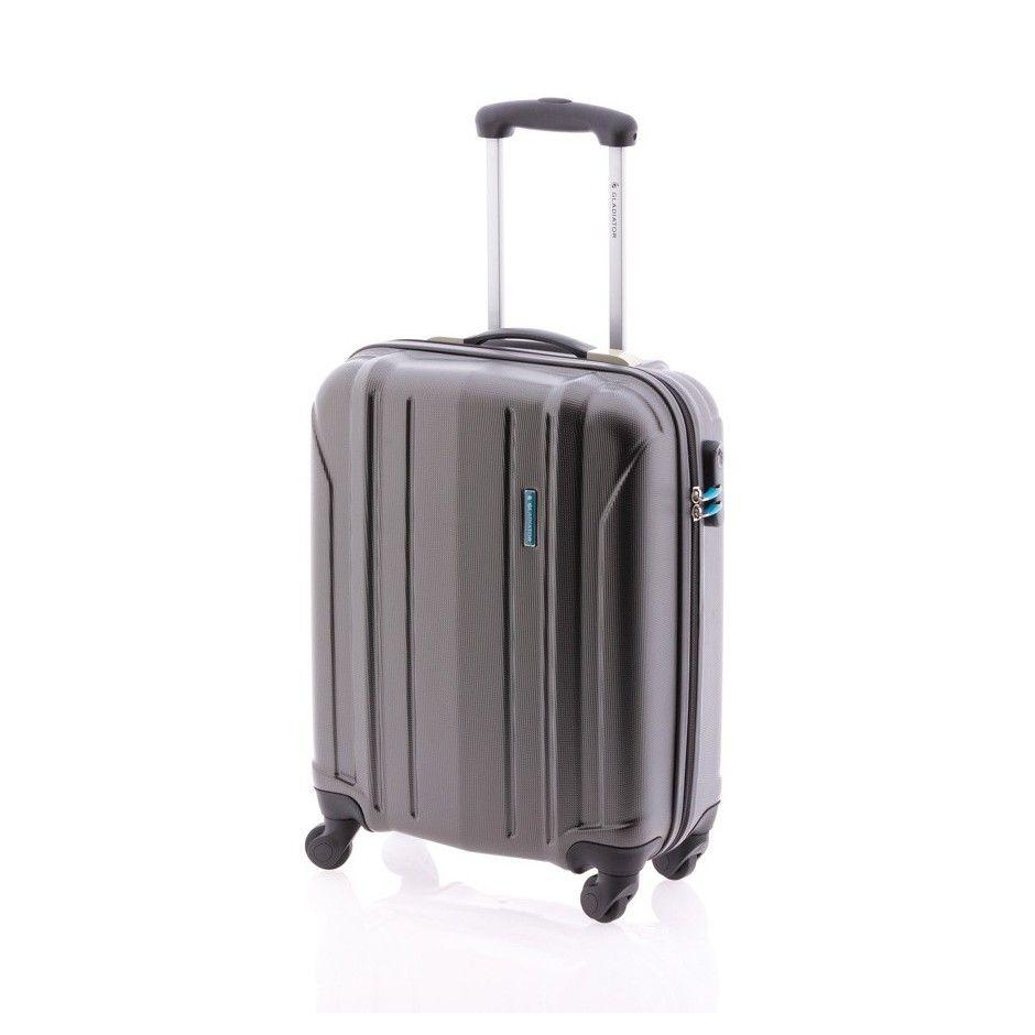 Gladiator Posh maleta gris maleta rígida maleta spinner