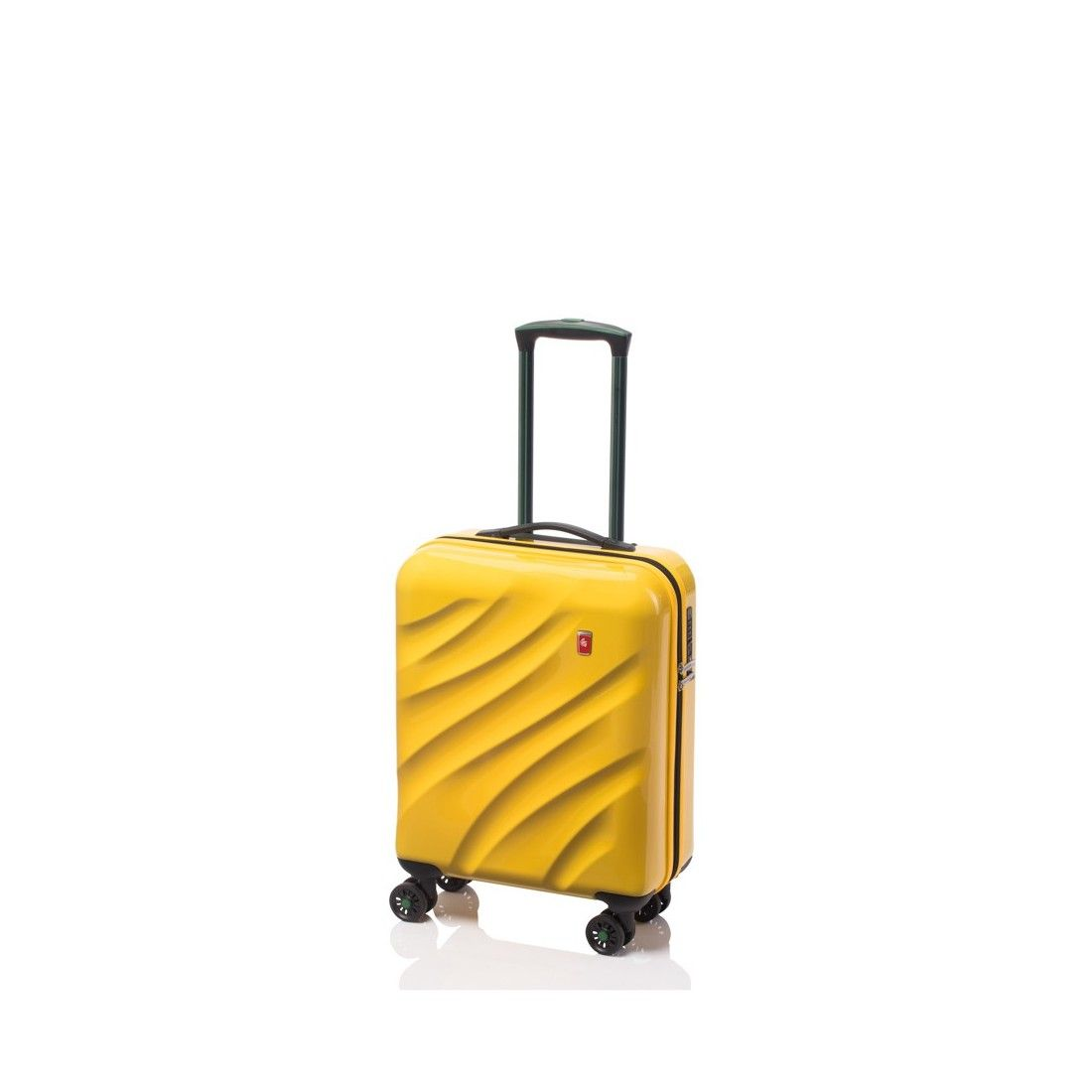 Gladiator Space maleta amarilla maleta rígida maleta spinner