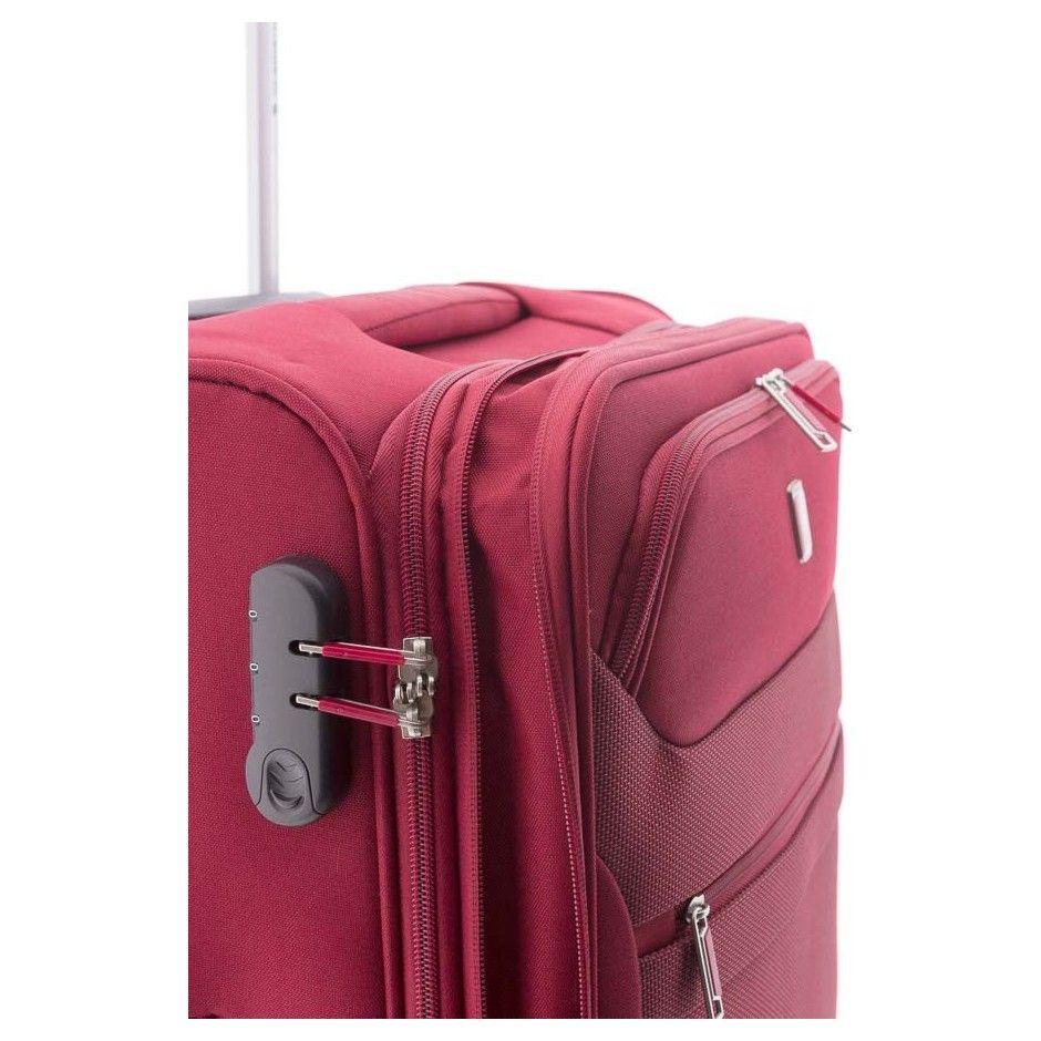 Gladiator 3D maleta roja maleta blanda maleta spinner